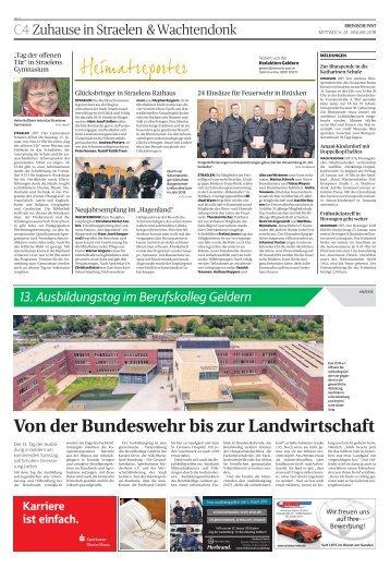 13. Ausbildungstag im Berufskolleg Geldern   -24.01.2018-