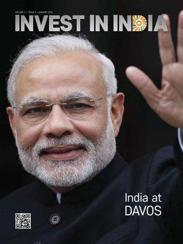 Invest in India Davos 2018 Magazine