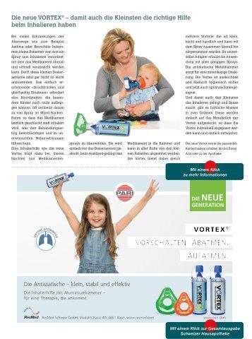 Inhalierhilfe für Kinder