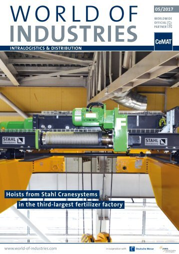 WORLD OF INDUSTRIES - LOGISTICS 5/2017