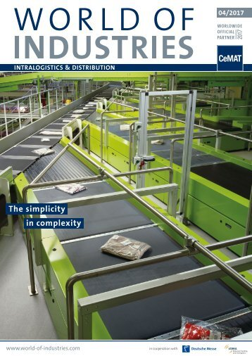 WORLD OF INDUSTRIES - LOGISTICS 4/2017