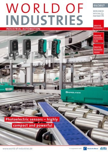 WORLD OF INDUSTRIES - Industrial Automation 3/2017
