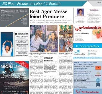 """50plus - Freude am Leben"" in Erkrath  -26.01.2018-"