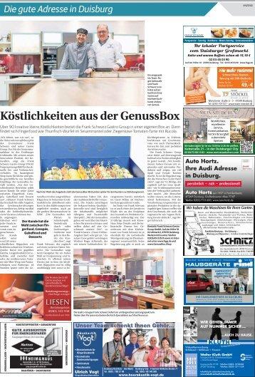 Die gute Adresse in Duisburg  -02.02.2018-