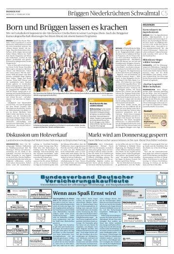 Bundesverband Deutscher Versicherungskaufleute  -05.02.2018-