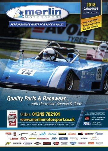 Merlin Motorsport 2018 Catalogue