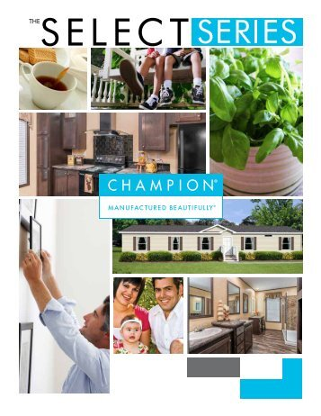 Champion Select Homes Available at Rockin P Homes