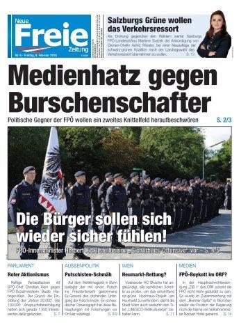 Medienhatz gegen Burschenschafter