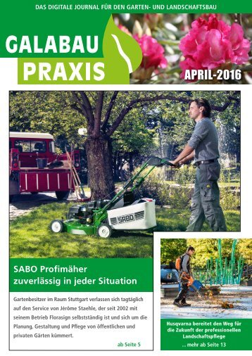 GALABAU PRAXIS April 2016