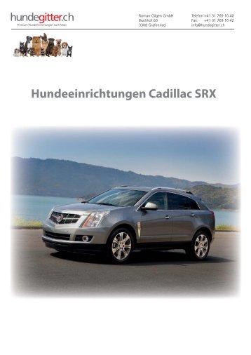 Cadillac_SRX_Hundeeinrichtungen