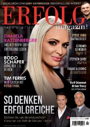 Erfolg Magazin, Ausgabe 2/2017