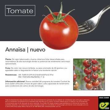 Leaflet Annaïsa 2018