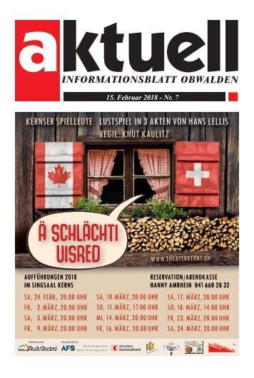 Aktuell Obwalden 07-2018