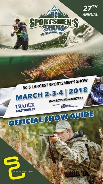 2018 27th Annual BC Sportsmen's Show