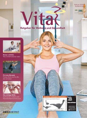 Vital - Ratgeber für Wellness und Gesundheit  -15.02.2018-