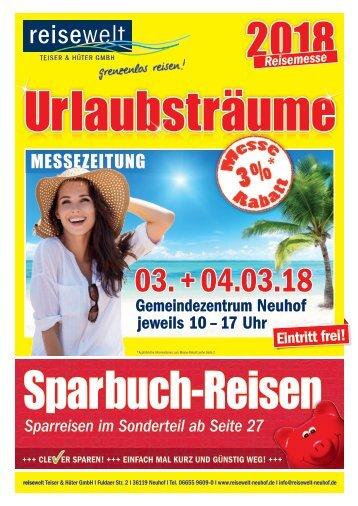 Messezeitung Urlaubsträume 2018