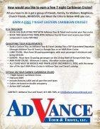 AdVance Tour & Travel 2018-2019 Dream Book - Page 2