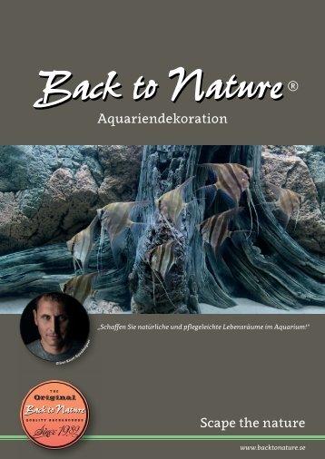 Back to Nature Produktkatalog 2018