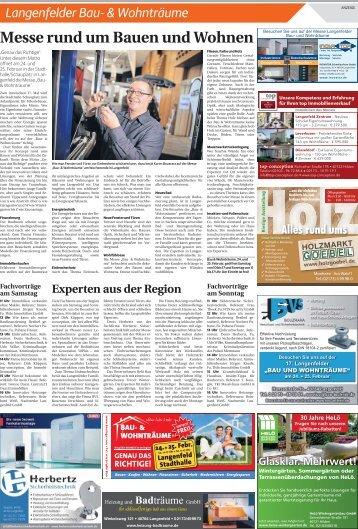 Langenfelder Bau- & Wohnträume  -20.02.2018-