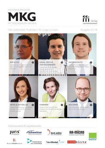 MKG-Fachinfo-Magazin Ausgabe 1/18