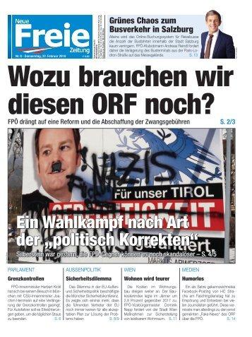 Wozu brauchen wir diesen ORF noch?