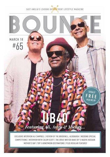 Bounce Magazine March 2018