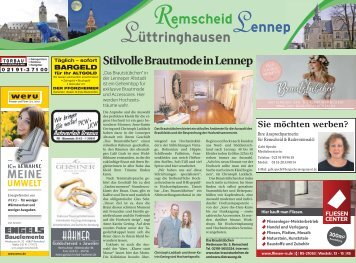 Remscheid - Lennep - Lüttringhausen  -23.02.2018-