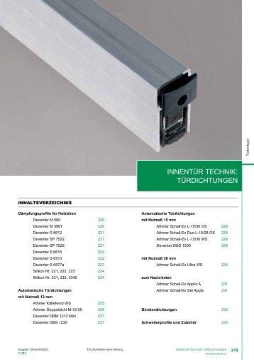 T00-05 Dichtungen Innentüren 2016