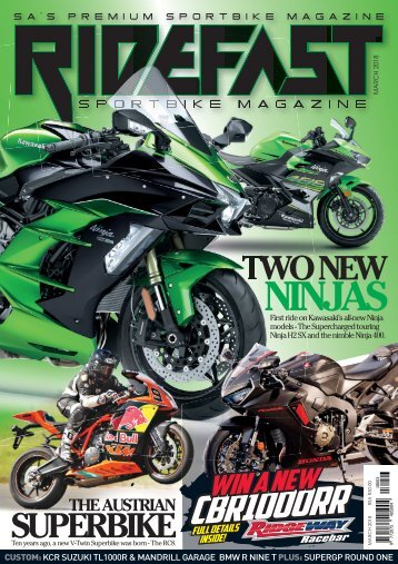 RideFast Magazine March 2018