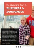 Our most popular Business & Economics School Trips - Page 2