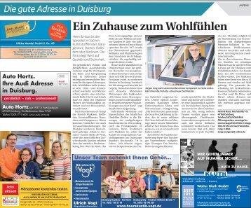 Die gute Adresse in Duisburg  -02.03.2018-
