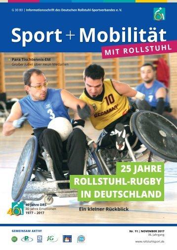 Sport + Mobilität mit Rollstuhl 11/2017