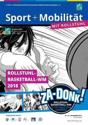 Sport + Mobilität mit Rollstuhl 12/2017