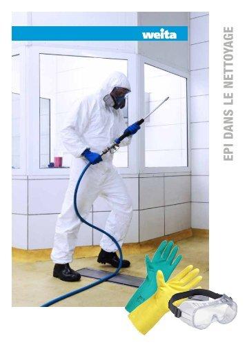 EPI dans le nettoyage
