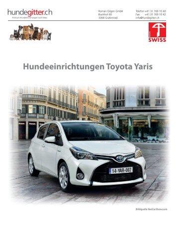 Toyota_Yaris_Hundeeinrichtungen