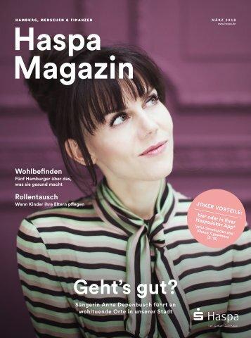 Haspa Magazin 01/2018