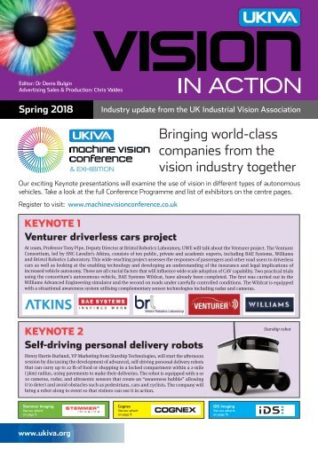 UKIVA - Vision in Action Spring 2018
