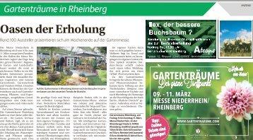 Gartenträume in Rheinberg  -07.03.2018-