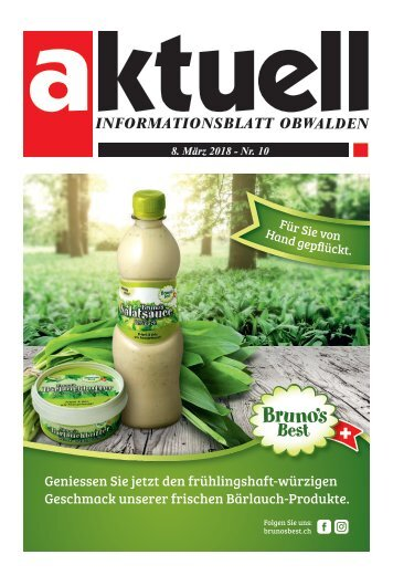 Aktuell Obwalden 10-2018