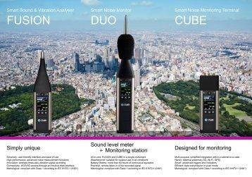 01dB FUSION, DUO & CUBE brochure