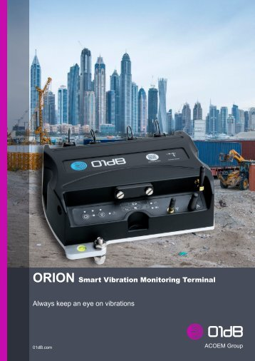 01dB ORION brochure