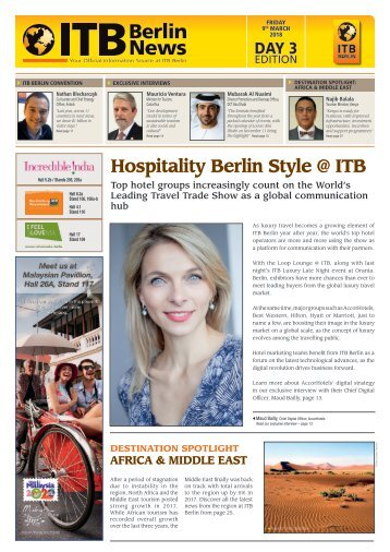 ITB Berlin News 2018 - Day 3 Edition