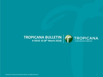 Tropicana Bulletin Issue 10