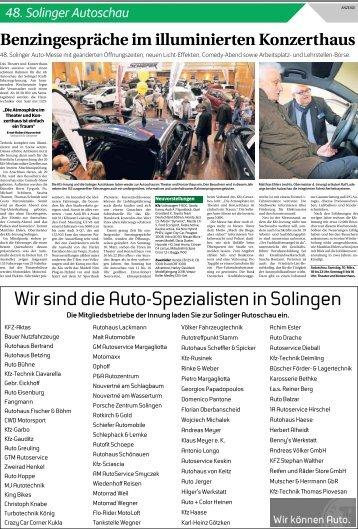 48. Solinger Autoschau  -09.03.2018-