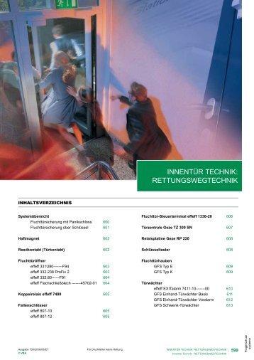 T00-11 Rettungswegtechnik 2016