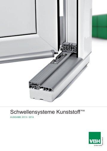 P08 Schwellensysteme PVC