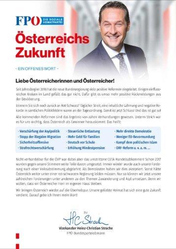 Regierungsprogramm 2017-2022 - Kompakt