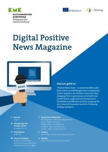"Projektkit: ""Digital Positive News Magazine"""