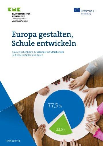 Erasmus+ Europa gestalten, Schule entwickeln