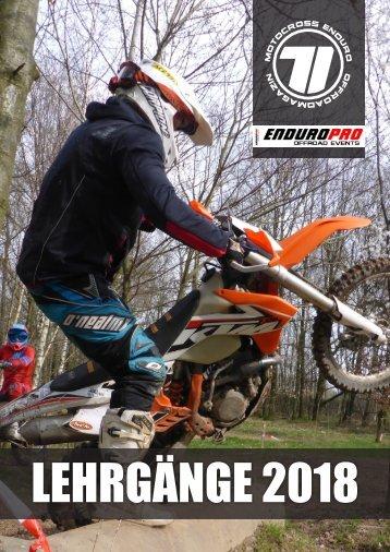 Lernen bei Motocross Enduro und EnduroPRO